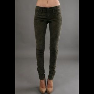 Free people corduroy skinny pants